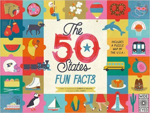 The 50 States: Fun Facts: Includes a puzzle map of the U.S.A.!