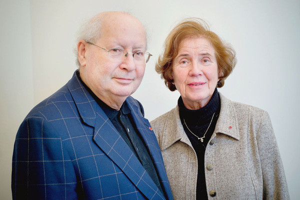 Beate and Serge Klarsfeld, Authors of Hunting the Truth Book