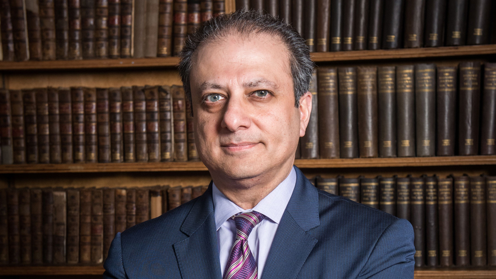Preet Bharara, Author of Doing Justice Book