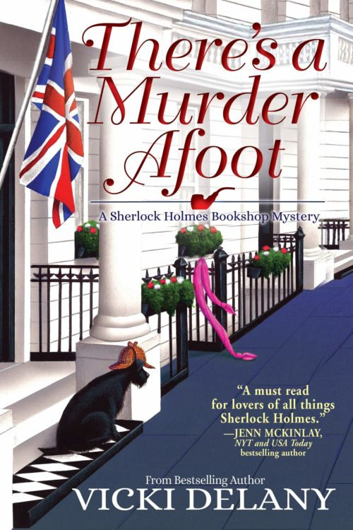 There's A Murder Afoot: A Sherlock Holmes Bookshop Mystery