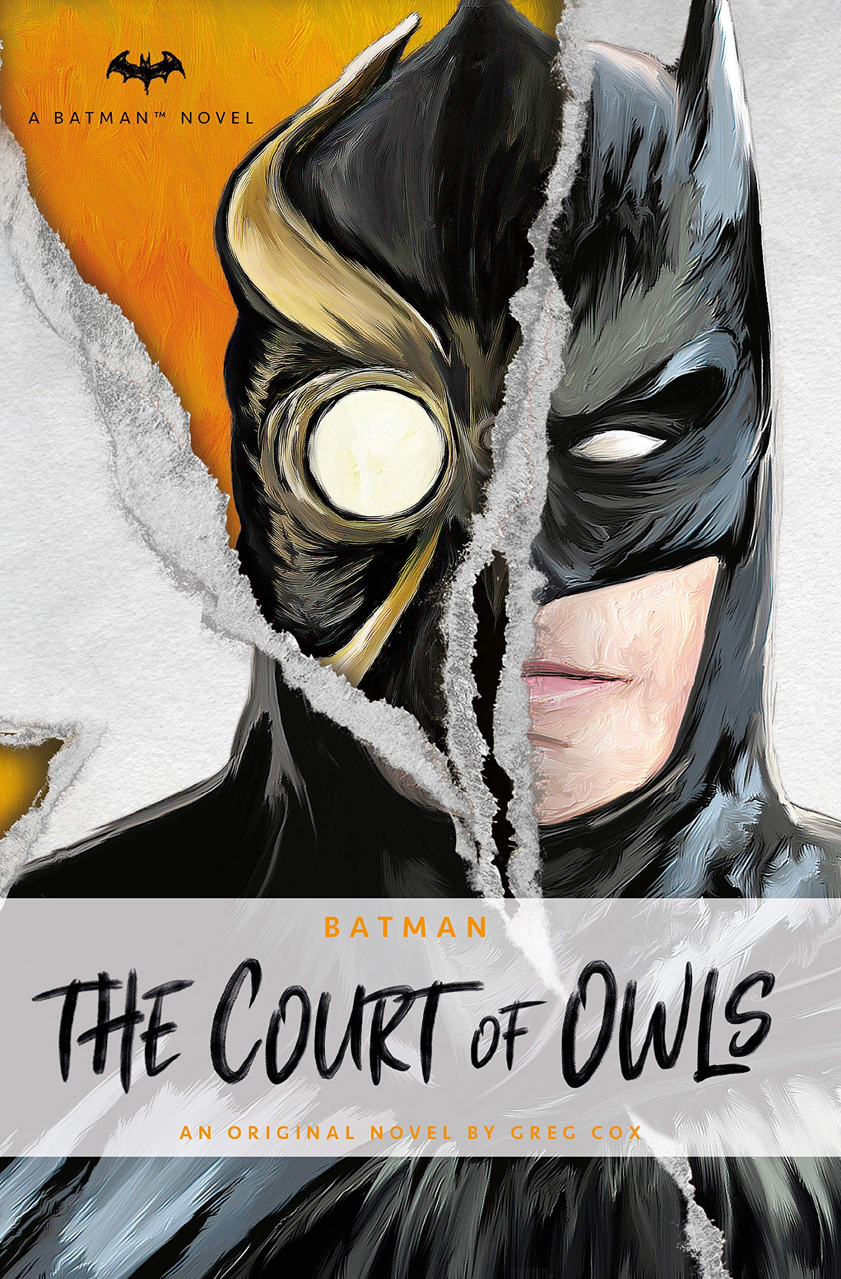 DC Comics novels - Batman: The Court of Owls: An Original Prose Novel by Greg Cox