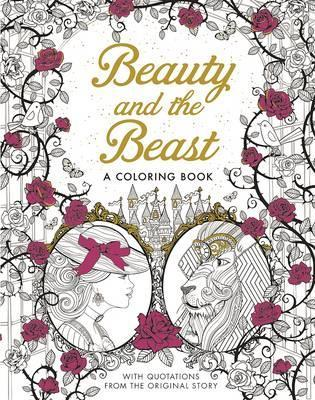 beauty and the beast a coloring book manhattan book review - A Coloring Book