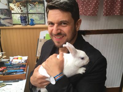 David Ezra Stein, Author of Hush, Little Bunny Book