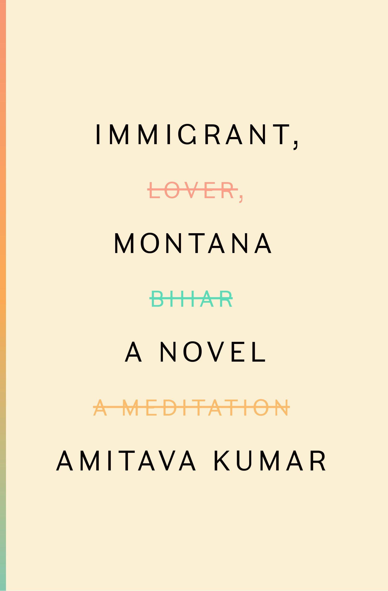 Immigrant, Montana: A novel