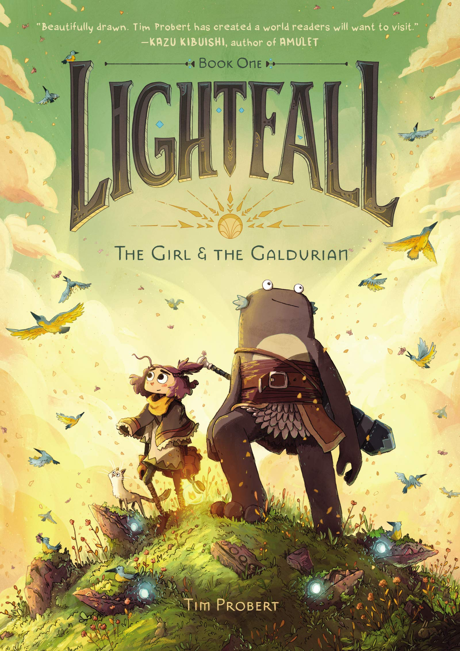 Lightfall Book One: The Girl & The Galdurian