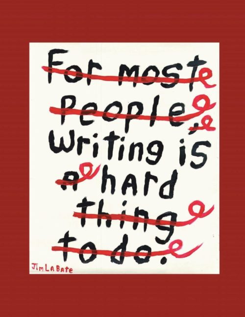 Writing Is Hard: A Collection of Over 100 Essays